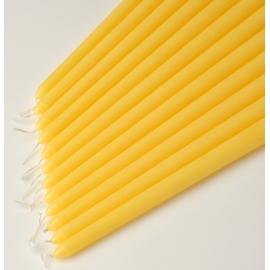 "12"" Yellow Taper Candles (1 Dozen)"